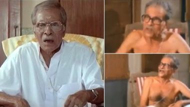 Remembering NN Pillai, the Legendary Malayalam Artiste Whose Video Explaining Socialism, Fascism, Democracy Through Goat Analogy Is Going Viral (Watch Video)