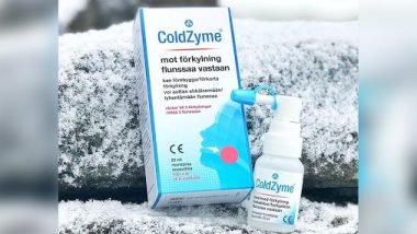 ColdZyme, a Mouth Spray by Swedish Firm Enzymatica, Is Able to Deactivate 98% of COVID-19 Virus in 20 Minutes: Study