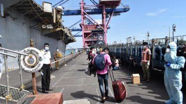 Operation Samudra Setu Culminates, Indian Navy Brings Back 3,992 Stranded Indians From Overseas
