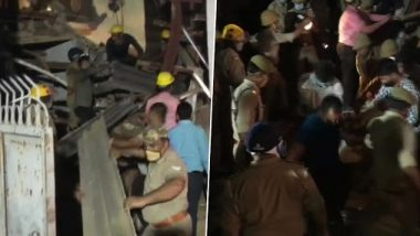 Noida Building Collapse: 2 Dead, 3 Critical After Under-Construction Building Collapses in Sector 11, CM Yogi Adityanath Reviews Situation