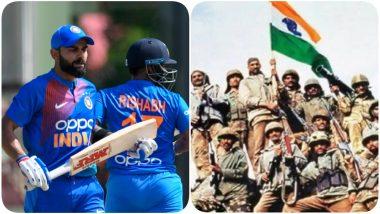 Virat Kohli, Ravindra Jadeja, Yuvraj Singh, Rishabh Pant & Other Cricketers Pay Tributes to Martyrs on Kargil Vijay Diwas