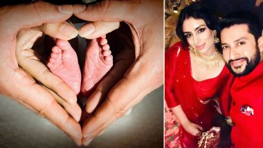 Actor Aftab Shivdasani and Nin Dusanj Welcome Baby Girl, Call Her 'A Little Bit Of Heaven' In An Adorable Post (View Pic)