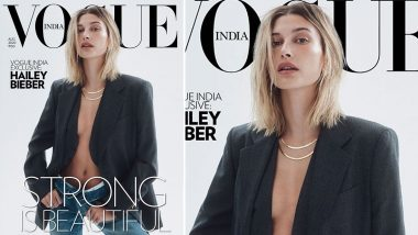 All that Hailey Bieber Needs is a Gucci Blazer to Look So Stunning on Vogue India's New Cover!