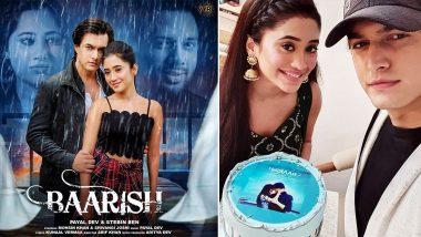 Mohsin Khan and Shivangi Joshi's Celebrate 'Baarish' Clocking 5 Million Views In a Day! (View Pic)