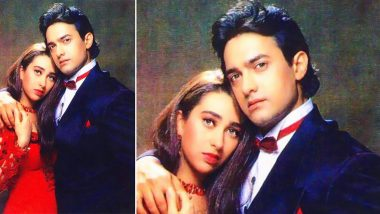 Karisma Kapoor Shares Throwback Pic With Aamir Khan From Raja Hindustani (See Pic)
