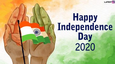 Happy Independence Day 2020 HD Images and Wishes: WhatsApp Stickers, Patriotic Quotes, GIFs, Facebook Messages, and Greetings to Send on 15th August