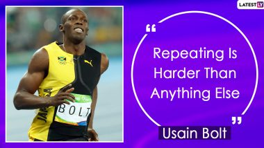 Usain Bolt Quotes With Hd Images 10 Powerful Sayings By The World S Fastest Man On Success And Life To Celebrate His 34th Birthday Latestly