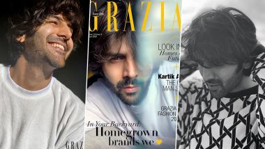 Kartik Aaryan Turns Cover Boy for Grazia India's August Issue and Girls are Already Swooning Over His Pictures
