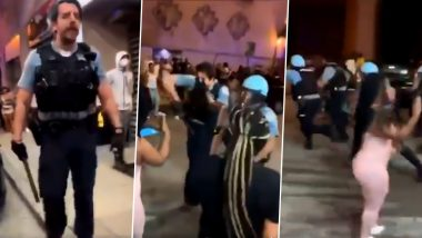 Chicago Riots: Police Opens Fire at Crowd After Locals Clash With Cops in Magnificent Mile Shopping District