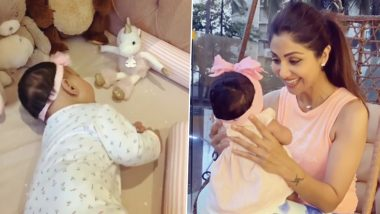 Shilpa Shetty Celebrates After Daughter Samisha Turns a Half-Year Old; Actress' Instagram Post for Her Newborn Is Unmissable
