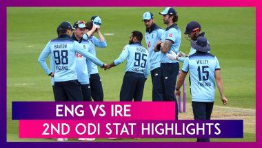ENG vs IRE 2nd ODI Stat Highlights: Jonny Bairstow, Adil Rashid Power England To Series Win