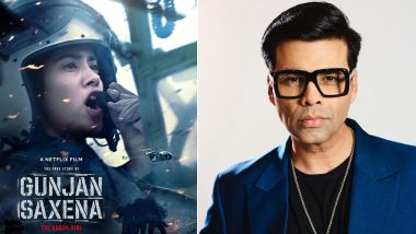 Gunjan Saxena: Has Netflix Dropped Karan Johar's Name From Posters and Trailer of Janhvi Kapoor Film Fearing Sushant Singh Rajput's Controversy? Here's a Fact Check!