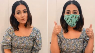 National Handloom Day 2020: Hina Khan Urges Fans to Go 'Vocal for Local' and Support Indian Weavers by Buying Handloom Masks (Watch Video)