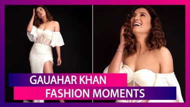 Gauahar Khan Birthday Special: Chicness Galore, Her Fashion Arsenal Is a Delightful!