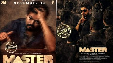 Fact Check: Thalapathy Vijay's Master Posters Suggesting its Premiere on Amazon Prime are Fake