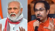 Mumbai Rains: PM Narendra Modi Speaks to Maharashtra CM Uddhav Thackeray, Assures all Possible Support