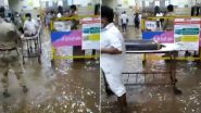 Mumbai Rains: Water Enters State-Run JJ Hospital After Incessant Showers (Watch Video)