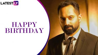 Fahadh Faasil Birthday Special: From Being Called 'Wooden' to Being Hailed as Best in Business, Recapping the Spell-Binding Journey of the National Award Winner