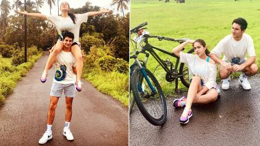 Sara Ali Khan Shares Pictures From Her 'Post Rakhi Bonding Vibe' With Brother Ibrahim Ali Khan (View Post)
