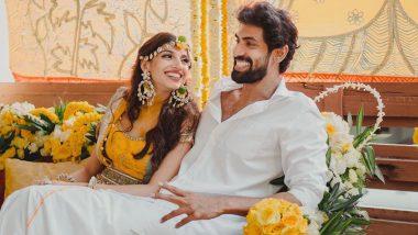 Rana Daggubati - Miheeka Bajaj Wedding: Actor Posts Cute Pic With Wife To-Be, Says 'Life Moves Forward in Smiles'