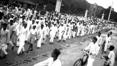 Quit India Movement 2020 Day: History and Significance of August Kranti Diwas, the Final Whistle to End British Raj