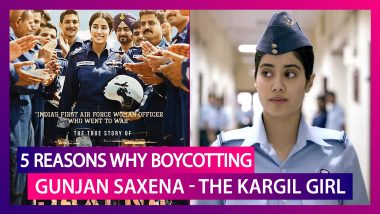 5 Reasons Why Boycotting Gunjan Saxena - The Kargil Girl Is Not The Cure For Nepotism in Bollywood