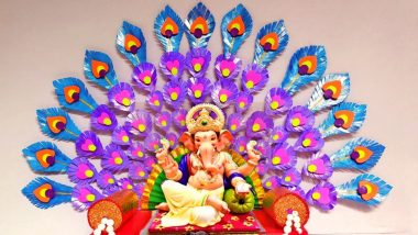 Ganesh Chaturthi 2021 Guidelines in Karnataka: Toned Down Ganeshotsav This Year Across State, Public Celebration Permitted for Maximum 5 Days