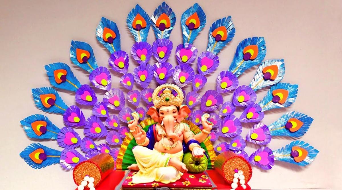 New Ganesh Chaturthi 2020 Makhar Decoration Ideas How To Make Ganpati Installation At Home Quick And Easy Diy Videos To Make Beautiful Ganeshotsav Set Up Latestly