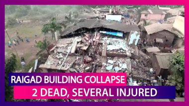 Raigad Building Collapse: 2 Dead, 18 Trapped, Several Injured In The Tragic Incident In Maharashtra