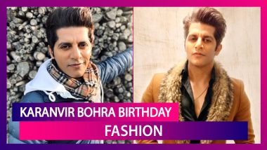 Karanvir Bohra Birthday: 5 Times The Good Looking Lad Nailed It In The Fashion Department!