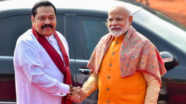 Sri Lanka General Elections Results 2020: PM Narendra Modi Dials Mahinda Rajapaksa as SSLP Heads For Landslide Victory