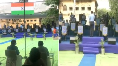 Independence Day 2020: Indian Air Force Band Presents Musical Performance in Nagpur, Watch Video