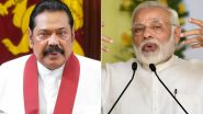 Sri Lanka General Elections Results 2020: Mahinda Rajapaksa Thanks PM Narendra Modi For Congratulatory Phone Call Over SLPP's Likely Win