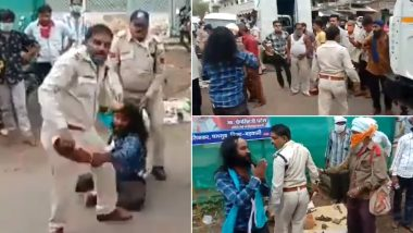Sikh Man Assaulted by Policemen in Madhya Pradesh's Barwani, 2 Cops Suspended After Video Goes Viral