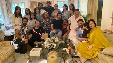 Raksha Bandhan 2020: Kareena Kapoor Khan, Ranbir Kapoor, Alia Bhatt and More Join Kapoor Family's Festive Lunch Session! (View Pics)