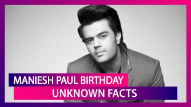 Maniesh Paul Birthday Special: Here Are Some Lesser Known Facts About The Multi-Talented Actor!