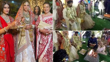 Rana Daggubati-Miheeka Bajaj Wedding First Pics Out: The Couple Looks Royal In Their Traditional Decko!