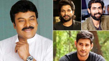 Megastar Chiranjeevi Turns 65 Today! Allu Arjun, Rana Daggubati, Mahesh Babu and Others Extend Birthday Wishes To The Boss Of Telugu Cinema