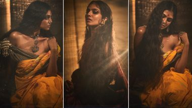 Malavika Mohanan's Latest Photo-Shoot Is Just Like Ancient Paintings Coming To Life! (View Pics)