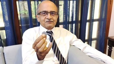 Prashant Bhushan Terms Contempt of Court Case 'Watershed Moment For Freedom of Speech' After Being Fined Re 1 by Supreme Court - Full Statement