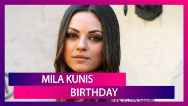 Mila Kunis Birthday: The Actress' Cute Moments With Husband Ashton Kutcher