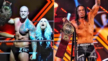 WWE NXT TakeOver XXX Results And Highlights: Karrion Kross Defeats Keith Lee to Become World Champion; Damian Priest Wins Ladder Match to Bag North American Title (View Pics)