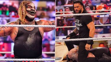 WWE SummerSlam 2020 Results and Highlights: Bray Wyatt Defeats Braun Strowman to Become Universal Champion; Roman Reigns Hits 'The Fiend' With Spear on His Return (View Pics)