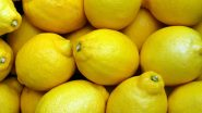 Why Lemons Should be Added to Your Daily Meals: From Controlling Blood Pressure to Healthy Skin, Here Are Five Reasons to Have This Citrus Fruit