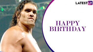 The Great Khali Birthday Special: From Defeating The Undertaker at Judgement Day 2006 to Winning World Heavyweight Championship Battle Royal Match, Here Are 5 Best Matches of the Indian WWE Wrestler (Watch Videos)