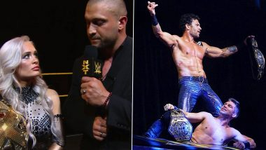 WWE NXT Aug 26, 2020 Results and Highlights: Karrion Kross Vacates NXT Title Due to Shoulder Injury; Breezango Defeats Imperium to Become Tag Team Champions (View Pics)