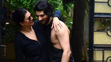 Sushmita Sen and Rohman Shawl Are Twinning and Winning Hearts With Their Cute PDA! (View Pics)