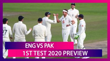 ENG vs PAK, 1st Test 2020 Preview: England, Pakistan Face-Off In Series Opener In Manchester
