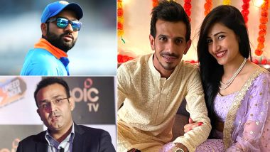 Rohit Sharma, Virender Sehwag Troll Yuzvendra Chahal With Hilarious Memes After RCB Bowler Announced his Engagement With YouTuber Dhanashree Verma