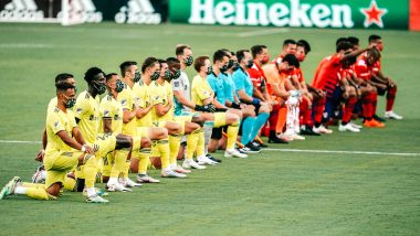 MLS: Fans Boo Players for Kneeling During US National Anthem in Support on BLM Movement Before FC Dallas vs Nashville Clash